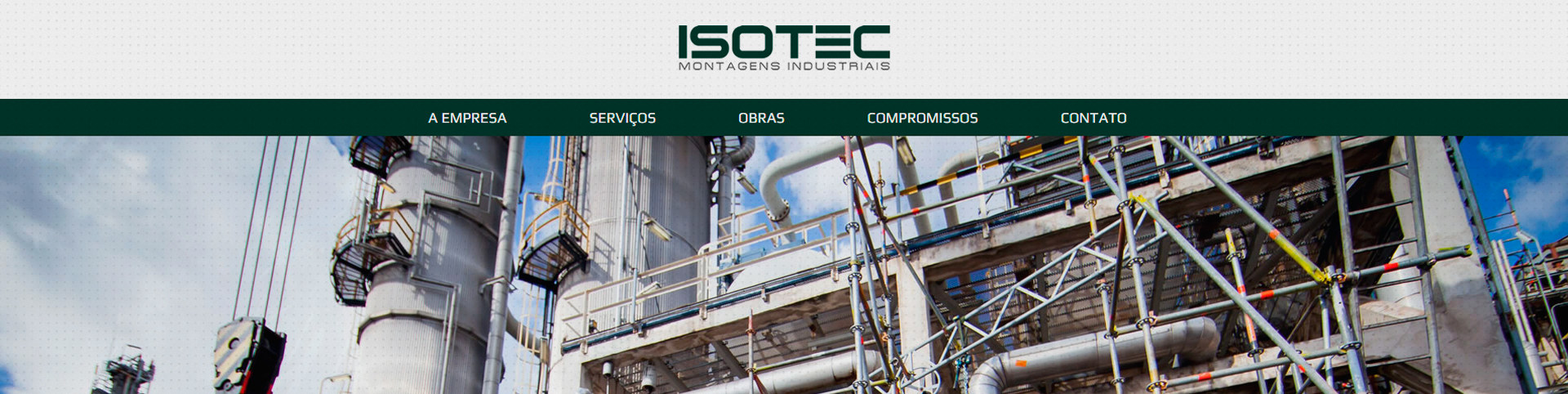 Site Isotec Montagens